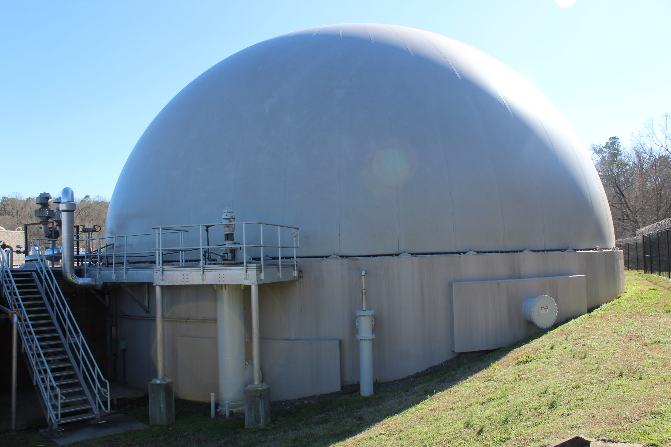 Anaerobic Digestion at Wastewater Treatment Plant