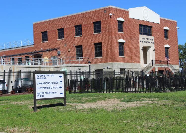 Jones Ferry Road Water Treatment Plant