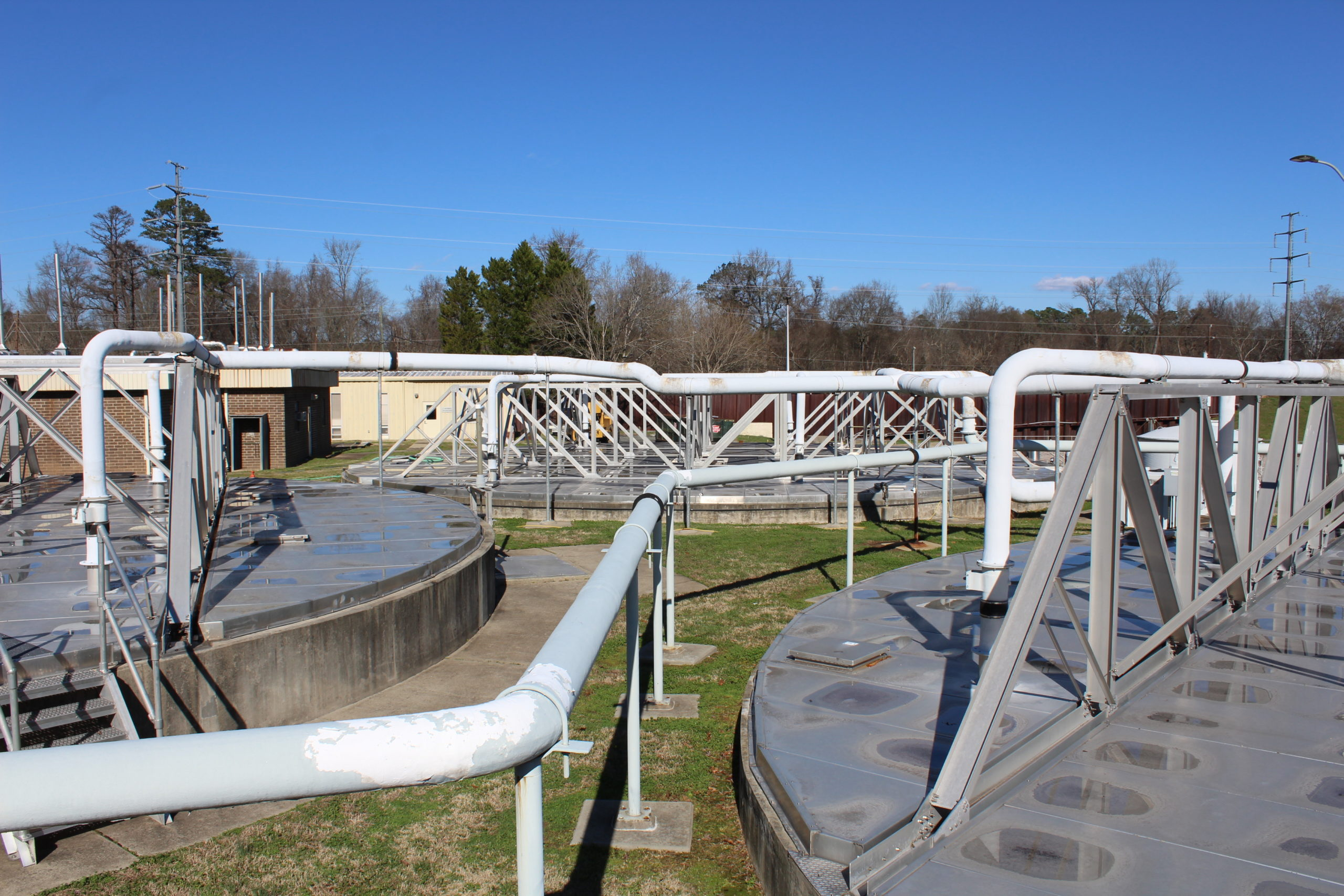 Primary Clarification at Wastewater Treatment Plant