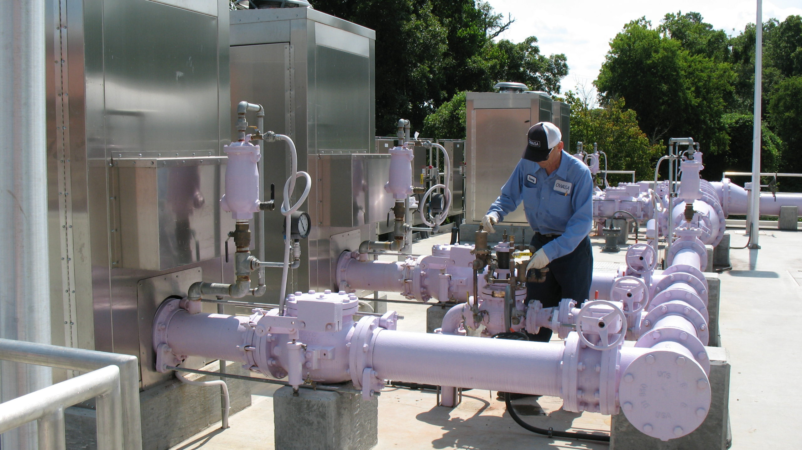 Reclaimed Water System Put in Service