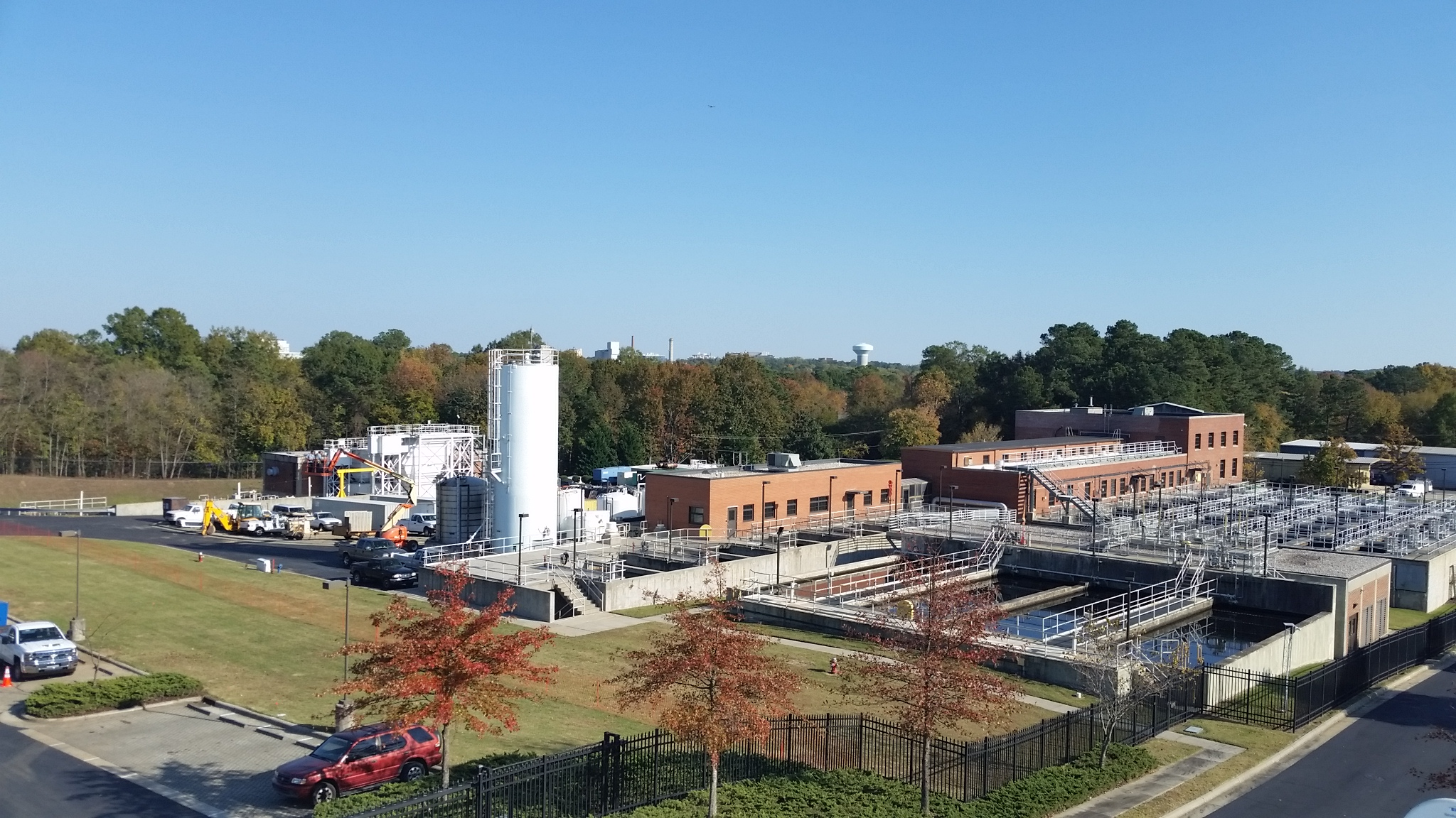 Jones Ferry Road Water Treatment Plant Capacity Expanded