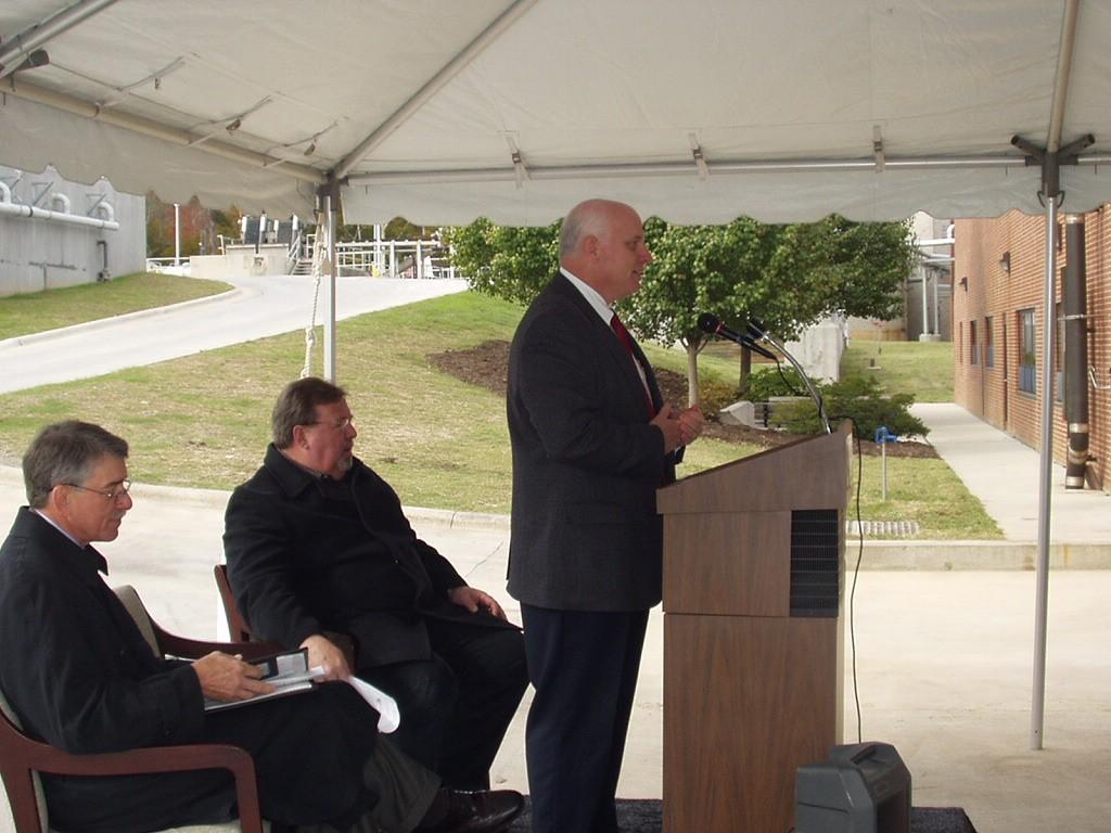Mason Farm Wastewater Treatment Plant Upgraded